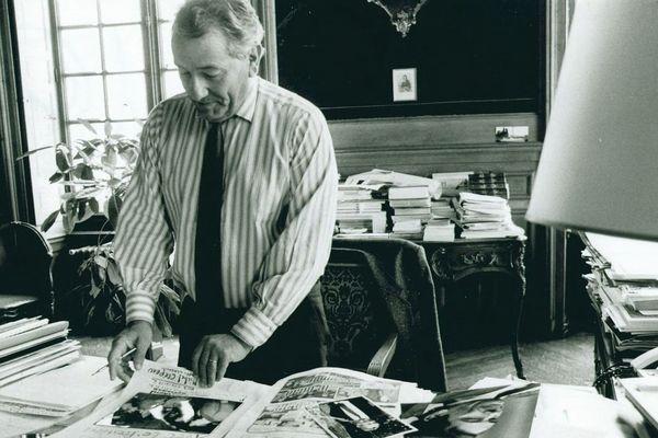 Michel Crépeau a été maire de La Rochelle pendant 28 ans