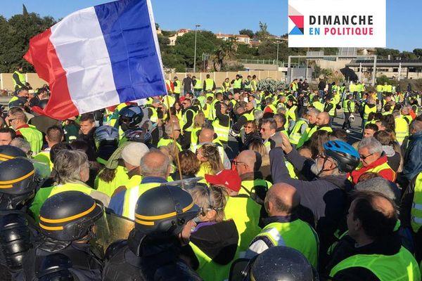 Les gilets jaunes dans Dimanche en Politique Côte d'Azur c'est dimanche 25 novembre à 11h30