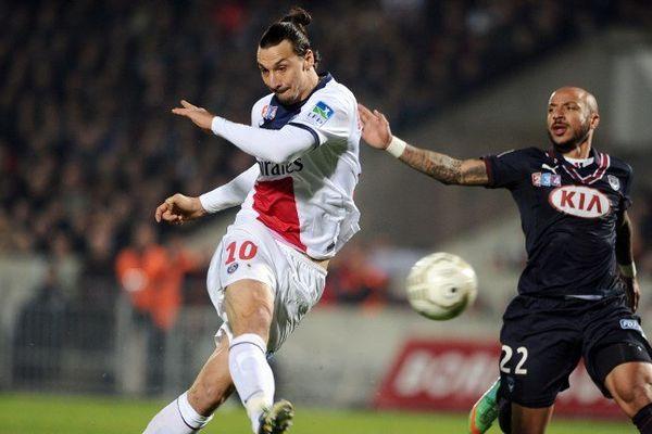 Zlatan Ibrahimovic et Julien Faubert