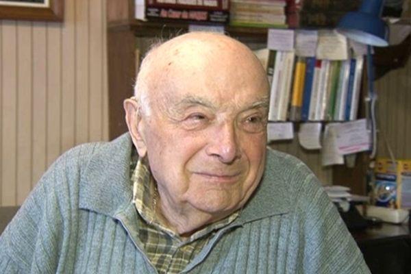 L'ancien résistant Raymond Fredonnet
