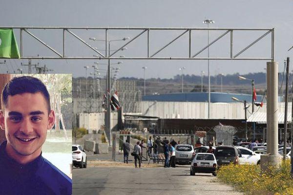Le jeune homme est soupçonné d'avoir fait passer des armes à Erez, le point de passage entre Israël et Gaza.
