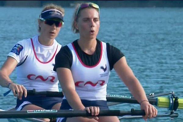Les filles de l'équipe de France sont en Savoie pour une semaine.