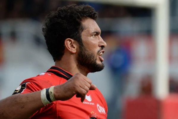 Maxime Mermoz, centre du RC Toulon.