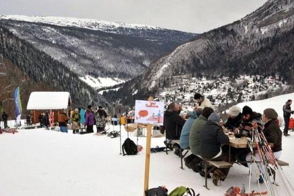 La Gliss Gourmande du 24 janvier 2015, à Aillon-Station (Savoie)