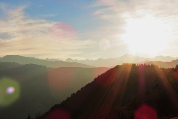 Grand soleil en Ariège ce matin pour ce #BattleCiel de printemps