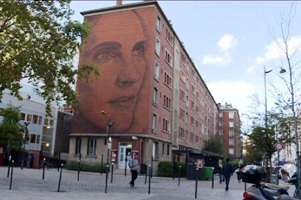 Le street art est présent sur de nombreux murs du 13e arrondissement