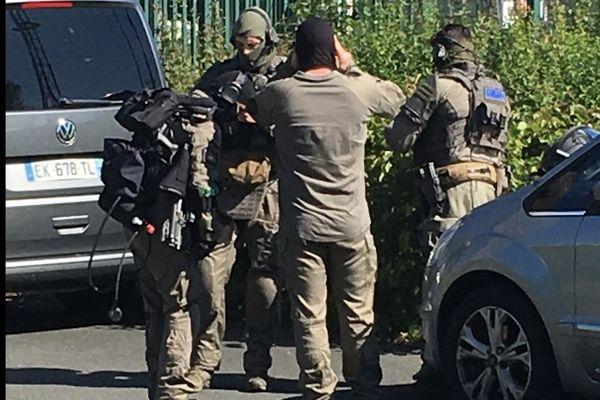 Les gendarmes ont été appuyés par 60 hommes du GIGN pour neutraliser Terry Dupin.