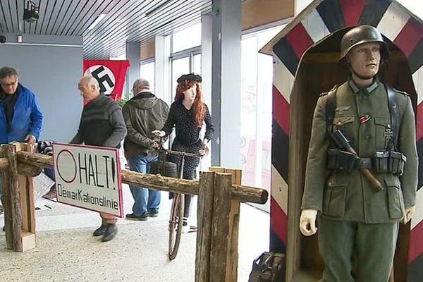 L'exposition retrace l'histoire des combattants de la Seconde Guerre mondiale qui ont participé à l'opération Frankton.