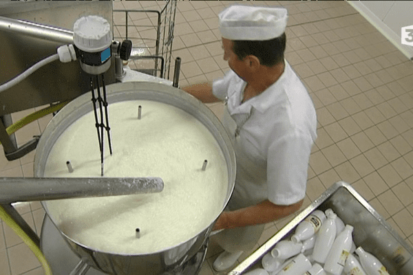 Jean-François Le Liard, producteur de lait ribot à Lanfains (22)