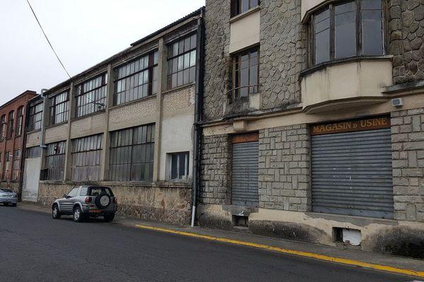 La façade abîmée par le temps