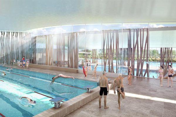 L'intérieur de la piscine du Carrousel