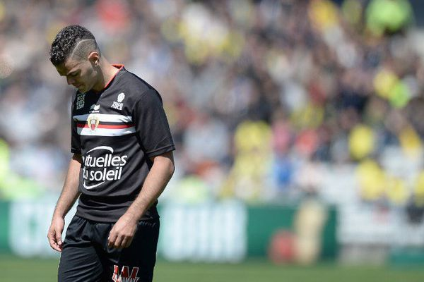 Hatem Ben Arfa lors de ce match face à Nantes.
