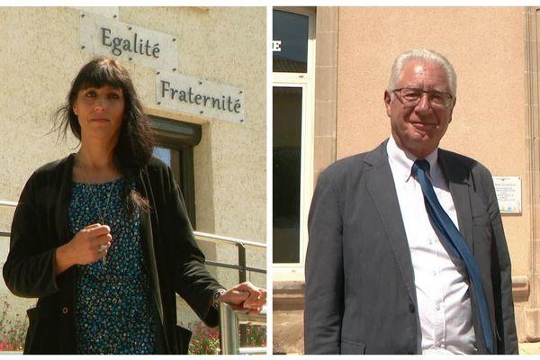 Florence Jardin, maire de Migné-Auxances et Claude Eidelstein, maire de Chasseneuil-du-Poitou sont tous les deux candidats à la présidence de Grand Poitiers.