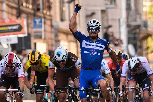 Alaphilippe a remporté Milan San Remo cette année