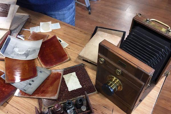 Les documents et le matériel photographique de Georges Nöel retrouvés cent ans après