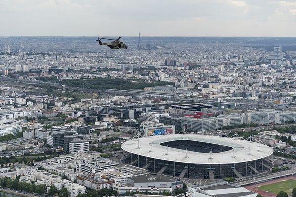 Stade de France sous haute protection ce soir