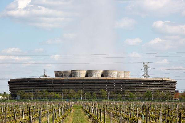 La centrale nucléaire de Chinon, en Indre-et-Loire.