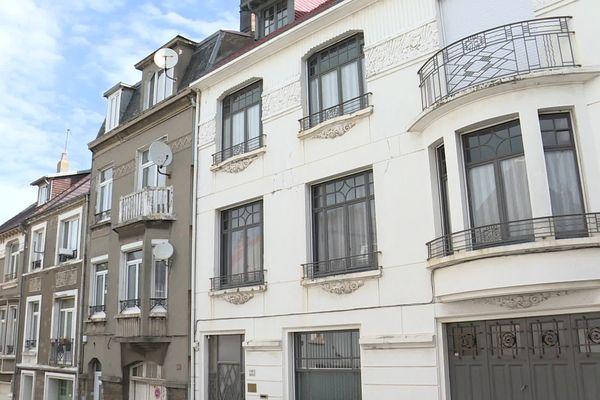 À Boulogne-sur-Mer, rue Aspirant Leuregans