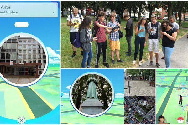 """La ville d'Arras a profité de l'engouement autour de """"Pokémon Go"""" pour faire parler d'elle ce mercredi."""