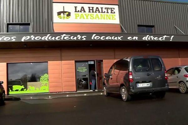 La Halte Paysanne vient d'ouvrir ses portes à Saint-Georges-des-Groseillers