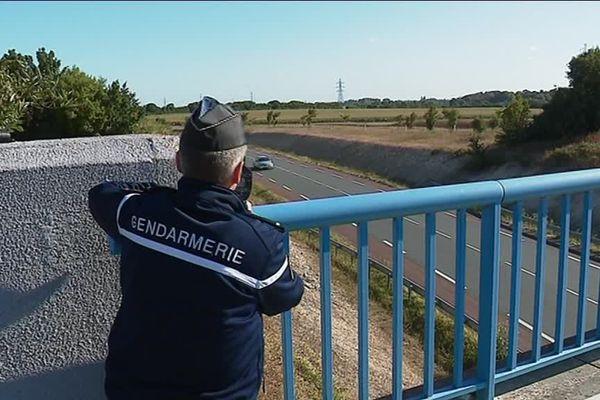 Une vaste opération de contrôles routiers est menée ce lundi en Charente-Maritime. Photo d'illustration.