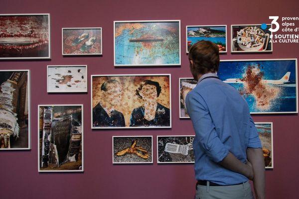 Photo prise lors de la 46 e édition des rencontres de la photographies d'Arles.