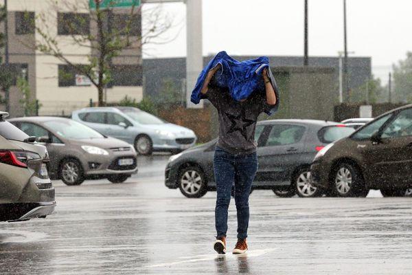 En Alsace, au mois de juin 2021, en 1h30 il est tombé l'équivalent de deux semaines de pluie.