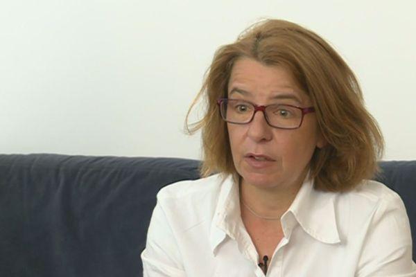 La candidate de La république en marche, dans la deuxième circonscription de Seine-Saint-Denis, Véronique Avril.
