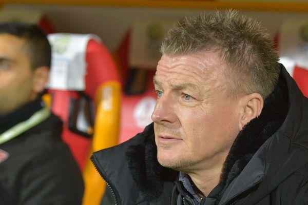 L'entraîneur valenciennois Olivier Guégan.