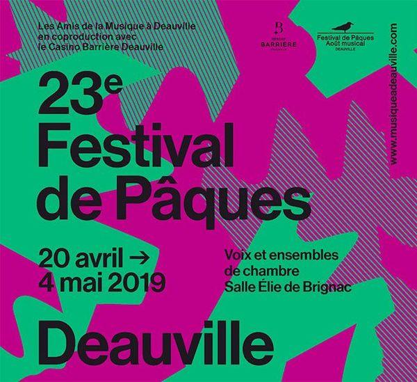 Le 23e festival de Pâques de Deauville se tient jusqu'au 4 mai 2019.