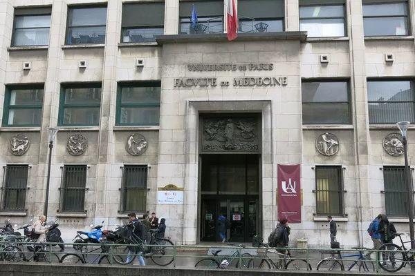 La faculté de médecine de l'université Paris-Descartes, en novembre 2019.
