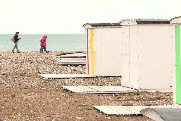 les cabanes de plages sont de retour au Havre