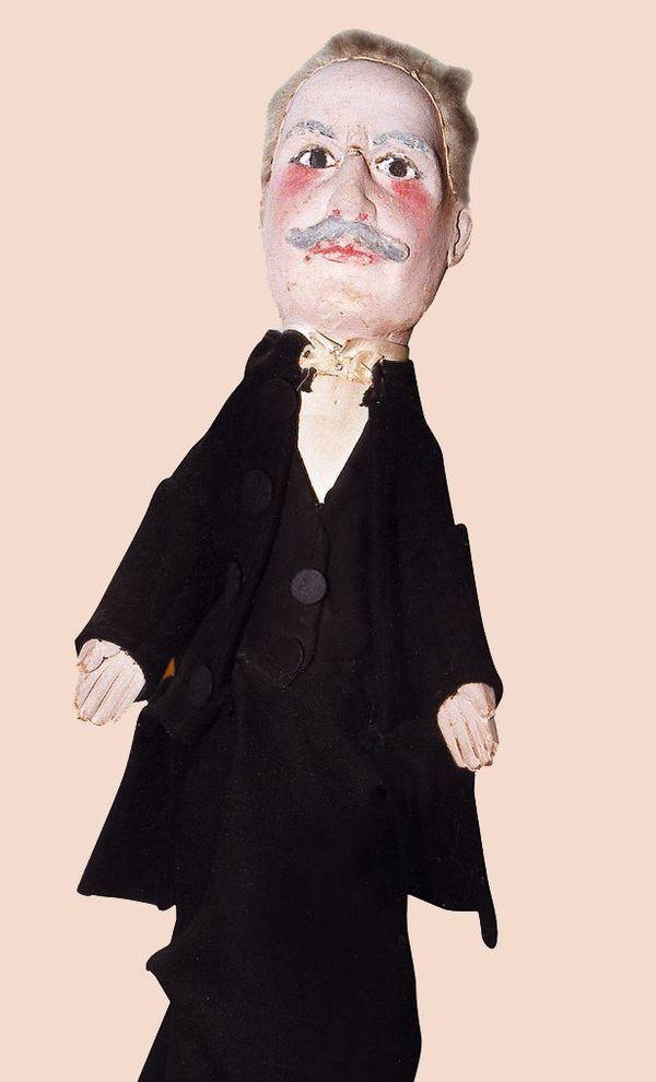 Justin Godart a sa propre marionnette dans la collection exceptionnelle du Musée Gadagne