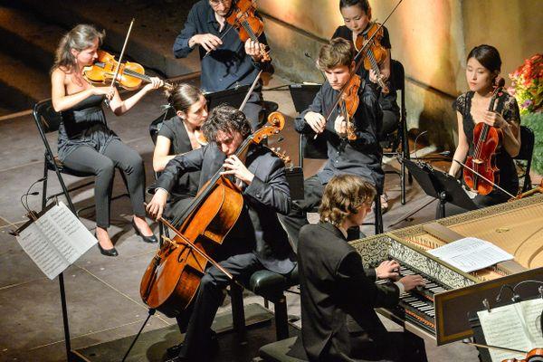 L'Orchestre Il pomo d'oro se produira à deux reprises le 30 juillet à l'Eglise Basse de Bonnieux. Ici l'orchestre au festival de musique de Menton en 2016.
