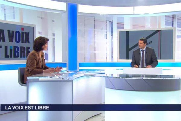 """Marie-Françoise Perol-Dumont interviewée par Damien Ordas dans """"la Voix est libre"""""""