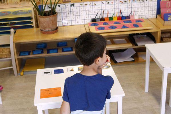 Ecole Montessori - Photo d'illustration