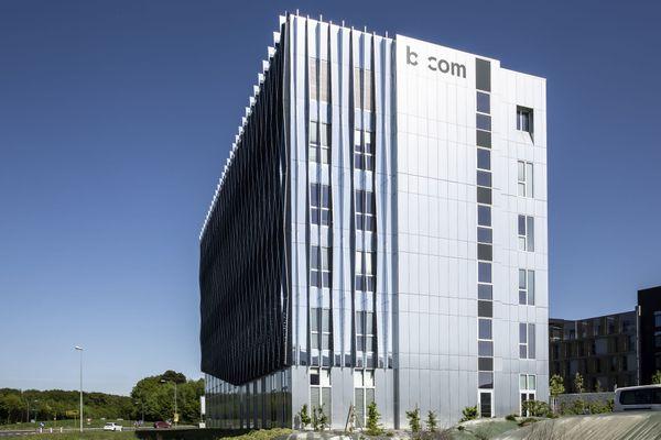 Le campus principal b<>com à Cesson-Sévigné près de Rennes
