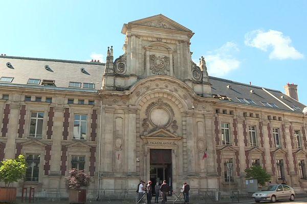 Le palais de justice d'Evreux