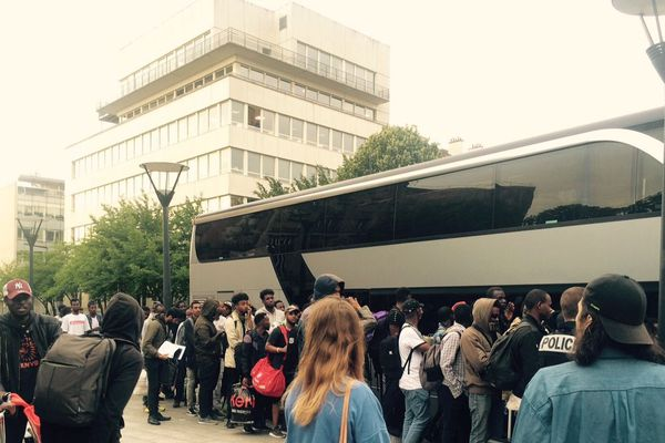 L'évacuation du campement s'est faite très tôt ce mercredi