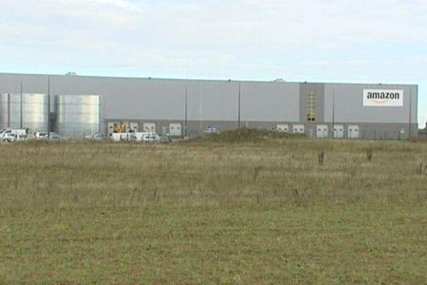 L'entrepôt Amazon à Lauwin-Planque.
