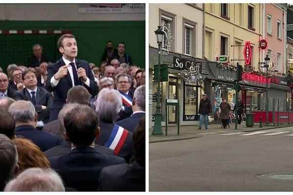 Emmanuel Macron avait débattu pendant 7 heures avec les maires normands