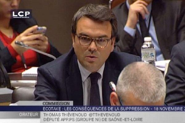Thomas Thévenoud, député de la 1re circonscription de Saône-et-Loire