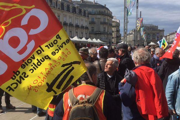 150 manifestants avaient répondu à l'appel des syndicats de retraités
