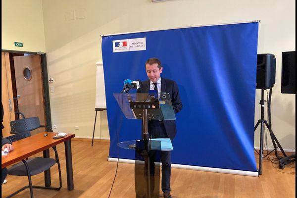 Conférence de presse du procureur de la République à Epinal, NicolasHeitz jeudi 7 octobre en début de soirée.