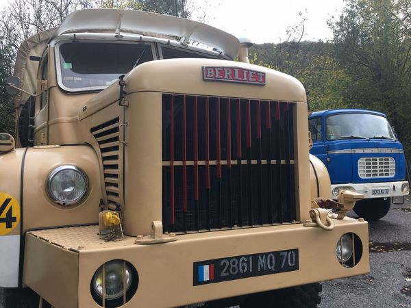 Un exemplaire franc-comtois du GBC8 gazelle ! Le modèle culte de la marque Berliet