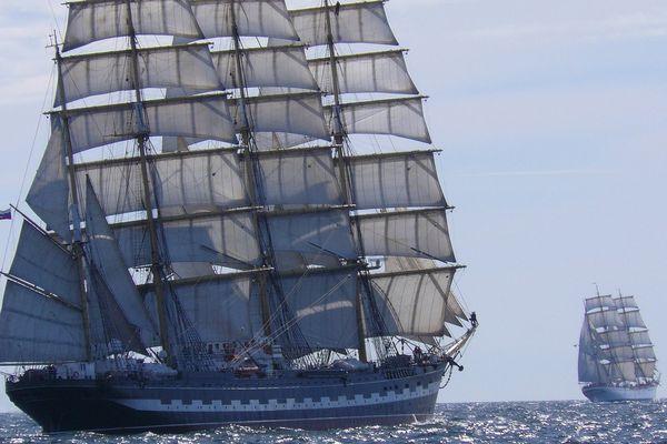 En 2019, le Kruzenshtern fera sa deuxième apparition à l'Armada de Rouen, après l'édition de 2013.