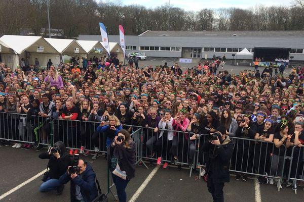 La deuxième édition de la Lycéenne MAIF Run, organisée par l'UNSS, s'est déroulée ce mercredi 14 mars à Hérouville-Saint-Clair