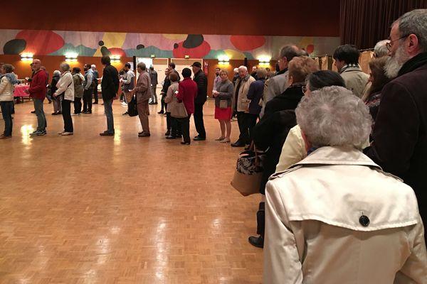 Bureau de vote - Halle de Tours - 23 avril 2017
