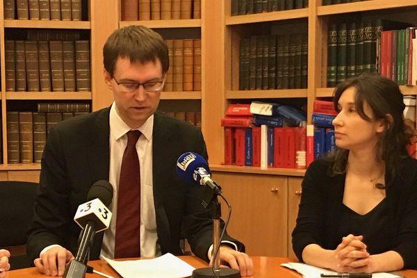 Le procureur de la République de Montargis, Loïc Abrial, a donné une conférence de presse ce jeudi 27 février.