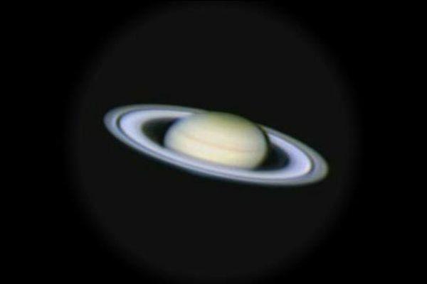 Saturne vue d'Ampaza